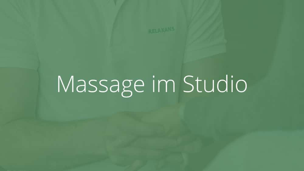 Massage im Studio